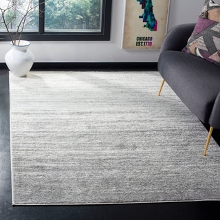 Safavieh Adirondack Vintage Ombre Ivory / Silver Rug (4' x 6')