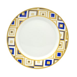 Xena Sapphire Salad Plates (Set of 4)