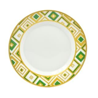 Xena Emerald Salad Plates (Set of 4)