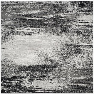 Safavieh Adirondack Modern Abstract Silver/ Multi Rug (6' Square)