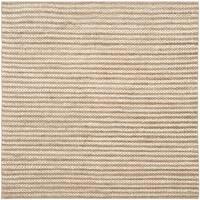 Safavieh Casual Natural Fiber Hand-Woven Natural Jute Rug (6' Square)