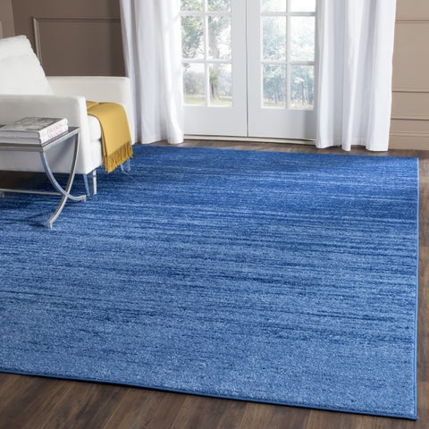 Safavieh Adirondack Vera Ombre Light Blue/ Dark Blue Rug - 6' x 6' Square