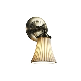 Justice Design Group Limoges Tradition Sconce, Round Flared