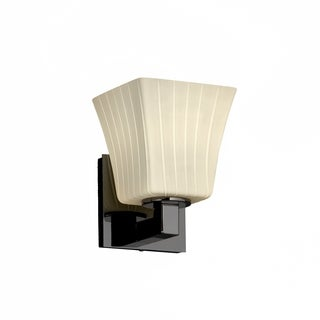Justice Design Group Fusion Modular Sconce, Square Flared
