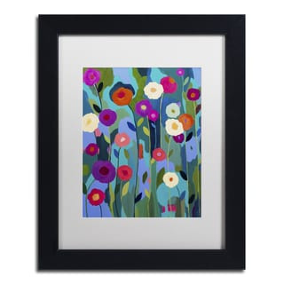 Carrie Schmitt 'Good Morning Sunshine' Matted Framed Art