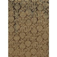 Bennington Collection Beige Rizzy Home Power-Loomed Accent Rug (3'3 x 5'3)