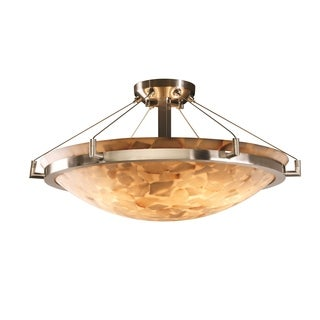 Justice Design Group 6-light Ring 24 inch Semi-flush, Round