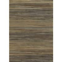 Grey Rizzy Home Bennington Collection Power-Loomed Accent Rug - 6'7 x 9'6