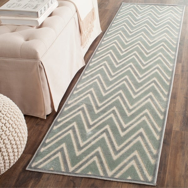 Safavieh Paradise Grey/ Multi Viscose Rug - 2'2 x 8'