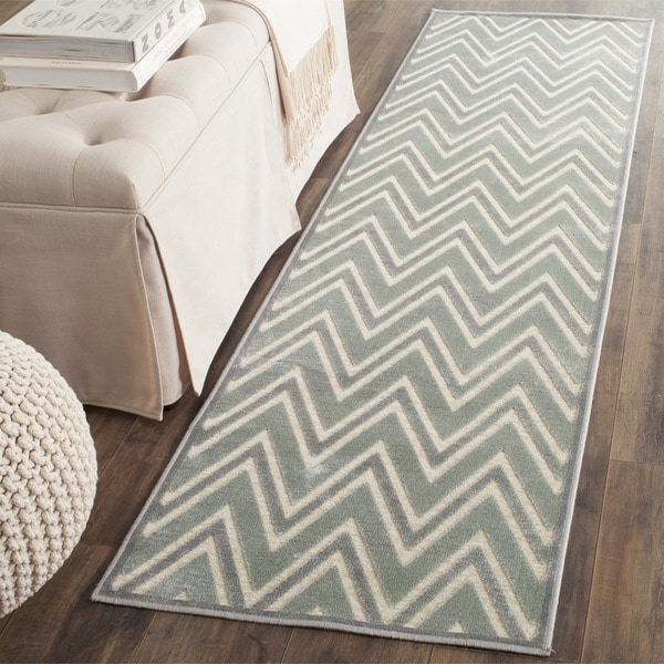 Safavieh Paradise Grey/ Multi Viscose Rug (2'2 x 8')