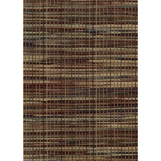 Red Rizzy Home Bennington Collection Power-Loomed Accent Rug (6'7 x 9'6)