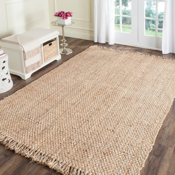 Shop Safavieh Casual Natural Fiber Hand Woven Natural Jute Rug 8