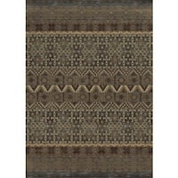 Blue Rizzy Home Bennington Collection Power-Loomed Accent Rug (9'10 x 12'6)
