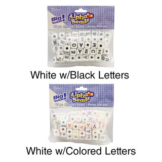 Alphabet Cube Beads 12mm 80/Pkg (2 options available)