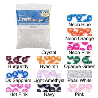 Pony Beads 6x9mm 720/Pkg|https://ak1.ostkcdn.com/images/products/10215998/P17338088.jpg?impolicy=medium