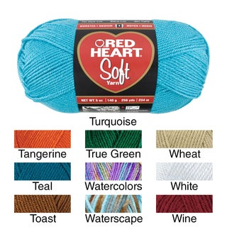 Red Heart Soft Yarn (More options available)