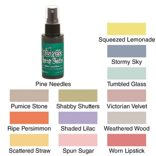 Tim Holtz Distress Spray Stains 1.9oz Bottles
