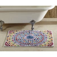 Picasso Mosaic Bath Rug by Better Trends - Multi