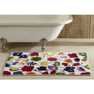 Picasso 2 x 3 ft. Floral Bath Rug by Better Trends