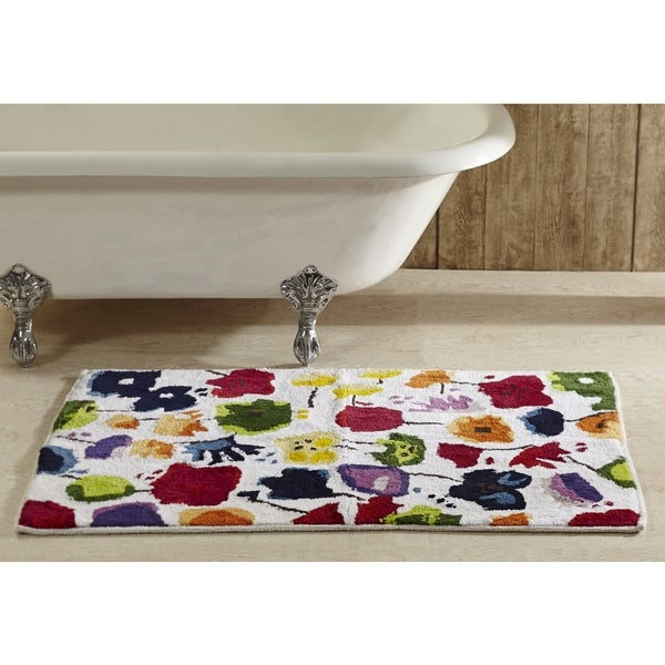 Picasso 2 x 3 ft. Floral Bath Rug by Better Trends - Multi