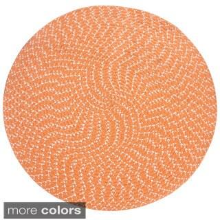 Sunsplash Indoor/ Outdoor Braided Rug (8' Round) by Better Trends - 8'