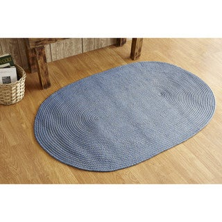 Palm Springs Indoor/ Outdoor Braided Area Rug (6' Round)