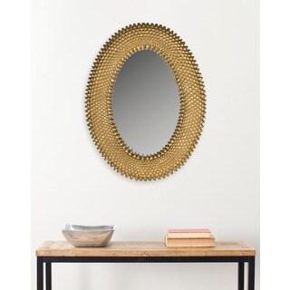 Safavieh Perugia Antique Gold 17.5 x 23-inch Oval Mirror