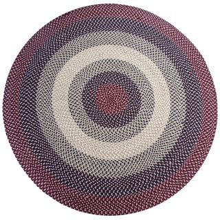 Woodbridge Braided Wool Rug (6' Round) by Better Trends