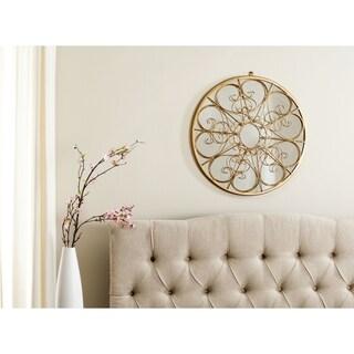 Safavieh Austin Filigree Gold Scrolls 26-inch Mirror