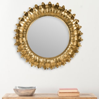 Arles Sunburst Gold Foil Mirror
