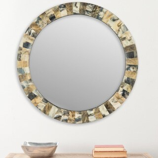 Safavieh Etienne Faux Tigers Eye Multi 29-inch Mirror
