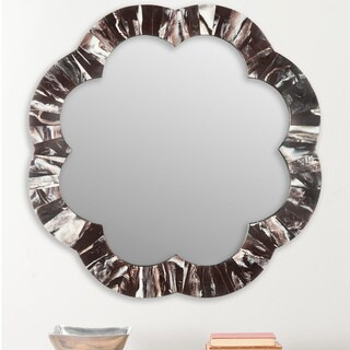 Safavieh Fleur Faux Tigers Eye Multi 29-inch Mirror