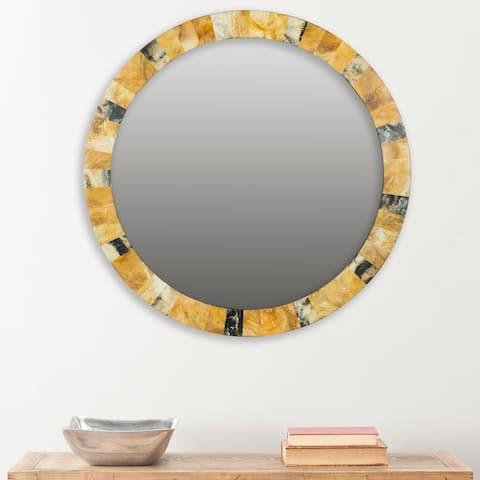 "Safavieh Lydia Artisan Multi 29-inch Decorative Mirror - 29"" x 29"" x 0.8"""