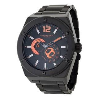 Stuhrling Original Men's Esprit D'Vie Automatic Leather Strap Watch