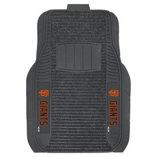 Fanmats San Francisco Giants Charcoal Vinyl Deluxe Floor Mat Set