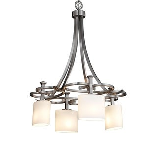 Justice Design Group Fusion 4-light Arcadia DownLight Chandelier