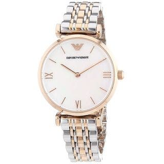 Emporio Armani Women's AR1683 Two-Tone Stainless steel Watch|https://ak1.ostkcdn.com/images/products/10216403/P17338459.jpg?impolicy=medium