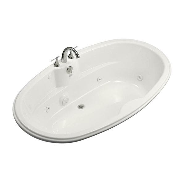 Kohler 7242 6 Foot Whirlpool Tub With Heater And Center Drain