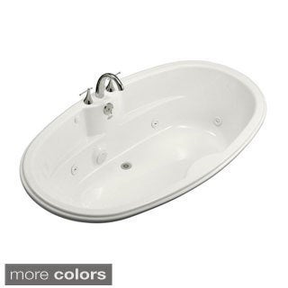 Kohler 7242 6-foot Whirlpool Tub with Heater and Center Drain