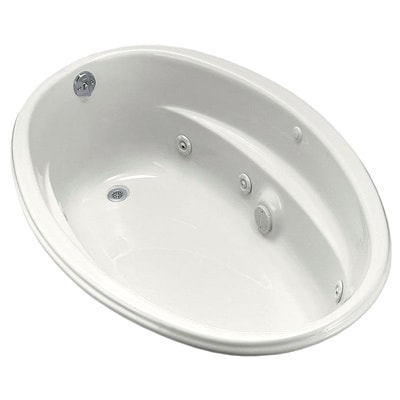 4b4b3829a0e Shop Kohler ProFlex 5 Foot Whirlpool Tub with Reversible Drain - Free  Shipping Today - Overstock.com - 10216452