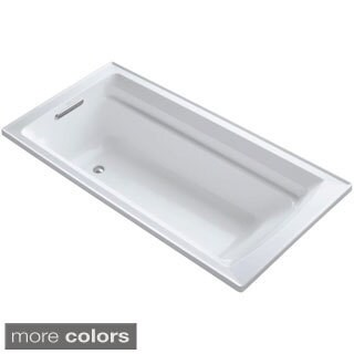 Kohler Archer 6-foot Acrylic Reversible Drain Soaking Tub