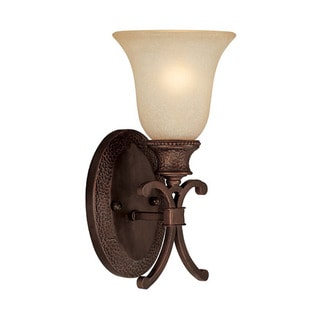 Capital Lighting Hill House Collection 1-light Burnished Bronze Wall Sconce
