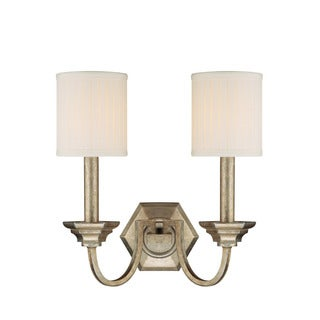 Capital Lighting Fifth Avenue Collection 2-light Winter Gold Wall Sconce
