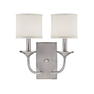 Capital Lighting Loft Collection 2-light Matte Nickel Wall Sconce
