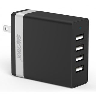 SHARKK 36W 4 USB Ports High Speed Wall Plug Charger / Travel Adapter