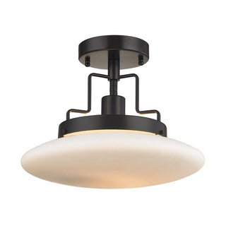 Anza 1-light Semi-flush in Oil Rubbed Bronze