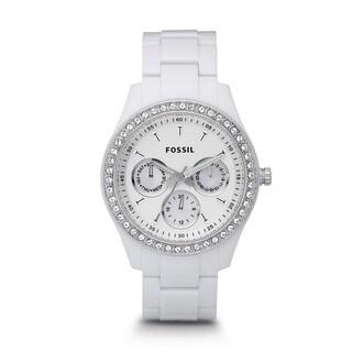 Fossil Stella White Dial Women's Quartz Watch ES1967
