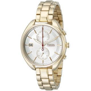 Fossil Woman's CH2976 Land Racer Chronograph Stainless Steel Gold-Tone Watch|https://ak1.ostkcdn.com/images/products/10216730/P17338871.jpg?impolicy=medium