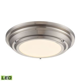 Sonoma Brushed Nickel LED Flush Mount