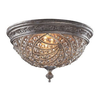 Renaissance 4-light Flush Mount